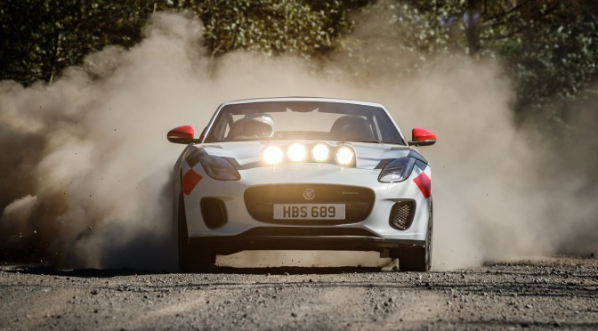 2018 Jaguar F-Type Rally Concept