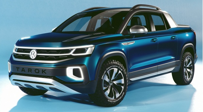 2018 Volkswagen Tarok Concept