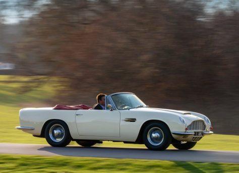 2018 Aston Martin Heritage EV Concept