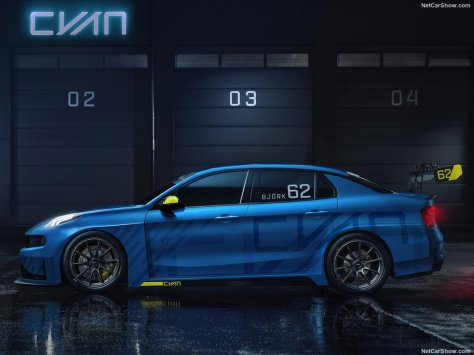 2018 Lynk Co 03 Cyan Racing Concept