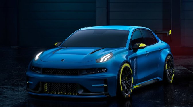 2018 Lynk Co 03 Cyan Racing Concept